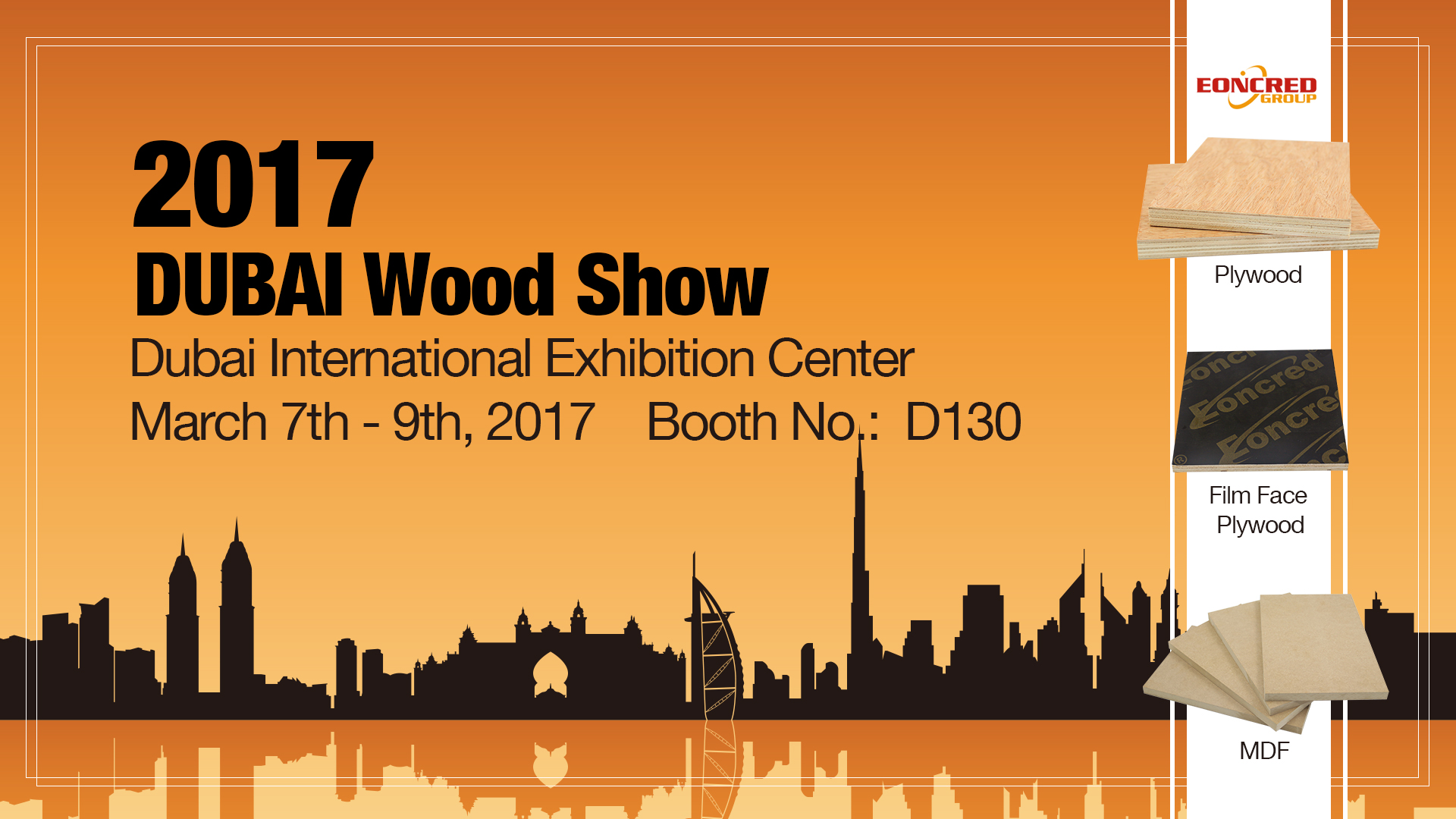 2017DUBAI Wood Show
