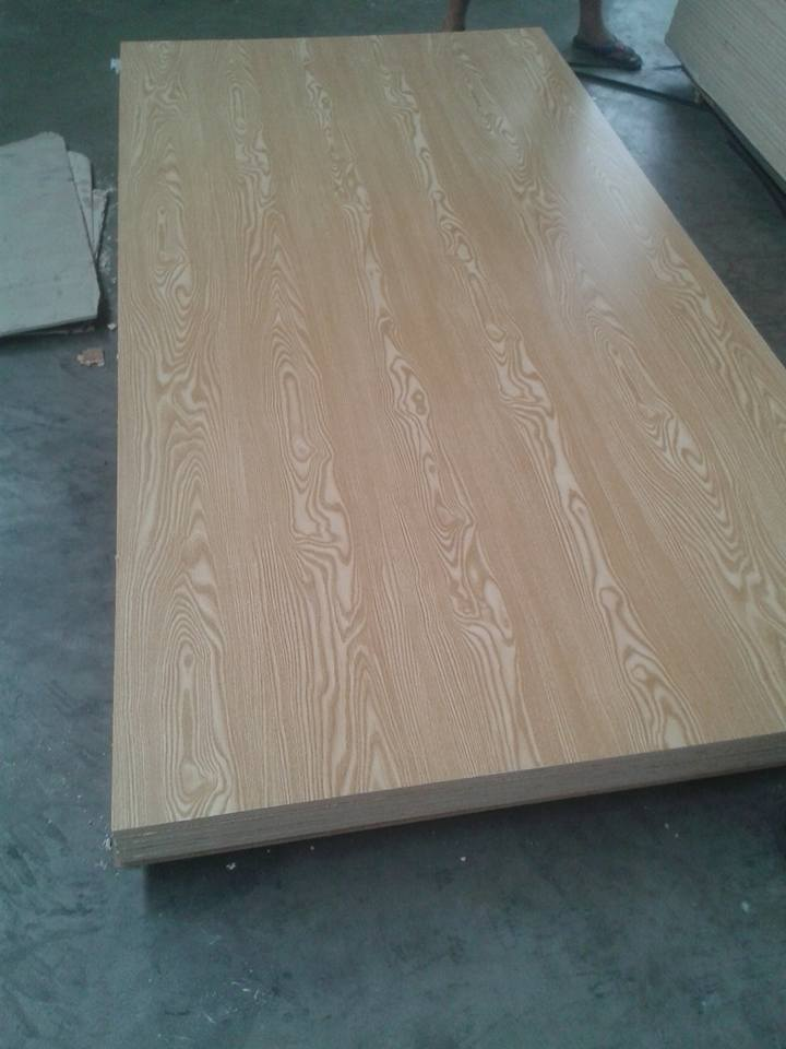 good quality ash veneer faced MDF board